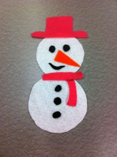 Library Village: Flannel Friday - How to Build a Snowman