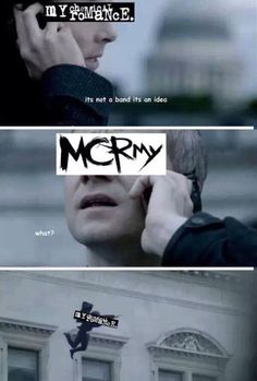 I love MCR and Sherlock and I'm so sorry but I think that's hilarious Emo Band Memes, Mcr Memes, Emo Bands, Music Bands, Music Stuff, My Music, Gerard Way, I Hate You, Fall Out Boy