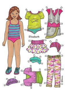 Elisabeth 01 - dukke og tøj