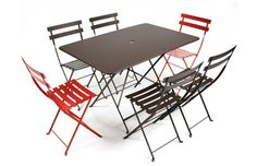 """Bistro Rectangular Tables - 38x22 or 46x 30 height 29"""""""