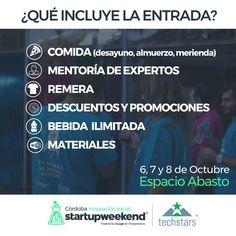 cuales son los perfiles que se requieren en startup weekend