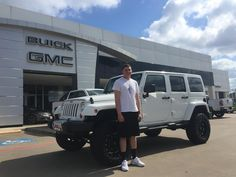 JAYSON 's new 2013 JEEP  WRANGLER ! Congratulations and best wishes from Hall Buick GMC and JOSE CERVANTES.