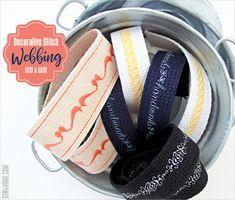 Decorative Stitch Webbing: Instant Embellishment for Bag Straps, Belts & More | Sew4Home