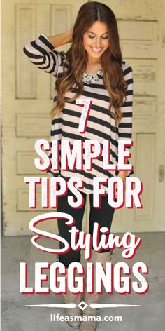 7 Simple Tips For Styling Leggings