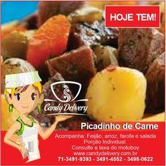 Cansado de pegadinhas com seu almoço delivery? Programe seu dia com um almoço delicioso e saudável. www.candydelivery.com.br Peça Já: 71 3491-9393 • 3491-4552  #querocomerbem #candydelivery