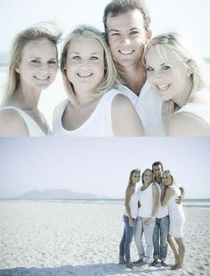 Beach photo shoot outfit ideas- white and denim Family Beach Portraits, Family Beach Pictures, Family Posing, Beach Photos, Family Pics, Picture Poses, Photo Poses, Picture Ideas, Photo Ideas