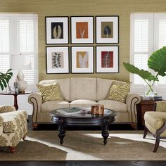 Tropical living by Ethan Allen
