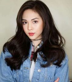 Janella Salvador is a Filipino television and movie actress and singer. Elmo, Beautiful Asian Women, Most Beautiful, Filipina Beauty, Asian Hair, Hair Care Tips, Ulzzang Girl, Japanese Girl, Eye Color