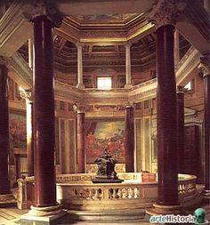 baptisterio de san juan de letran, Roma (S. IV) Espacio de tradición romana rediseñado para el bautismo por inmersión