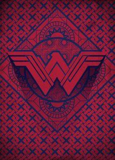 wonderwoman symbol hope