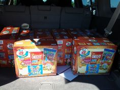 Boxes of 36 bags of cookies...$1 at commissary!! Score!!