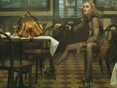Madonna & Louis Vuitton   (c) Annie Leibovitz