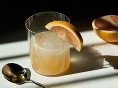 blushing betty--grapefruit and bourbon