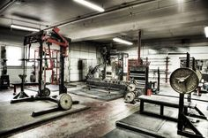Monolithic classic iron gym. What a heavenly place #gymlife