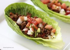 Taco lettuce wraps -easy, healthy and delicious! | I Heart Nap Time - Easy recipes, DIY crafts, Homemaking