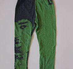 Jimmy Hendrix Recycled T Shirt Toddler Leggings!!