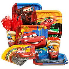 Cars Party - Disney Cars Birthday Party Supplies & Decorations at Birthday in a Box
