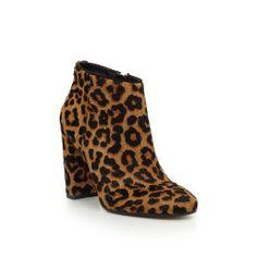 Cambell Heeled Bootie by Sam Edelman - Leopard Brahma