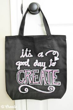 Chalkboard Craft Tot