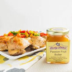 Aunty's Lilikoi Roast Chicken Real simple, real ono recipe for lilikoi roast chicken using aunty lilikoi butter.