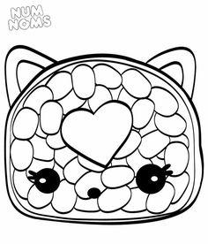 Num Noms Coloring Pages Cat coloring page Coloring pages Coloring pages for kids