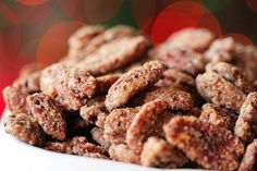 Candied Sugar Glazed Pecans