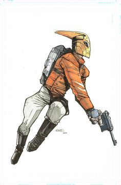 The Rocketeer by Humberto Ramos
