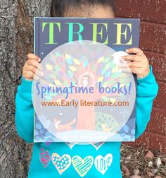 The book Tree by Britta Teckentrup is another great book for both #spring & #earthday! The illustrations are impeccable and it really highlights the beauty of earth's seasons!