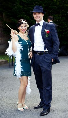 1920s style guests | Photographer: Cormac Byrne