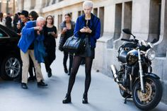 Paris street fashion  2014