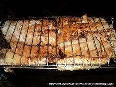 Cozinhando com Bernadete: PEIXE ASSADO COM MOLHO DE LIMÃO E ERVAS
