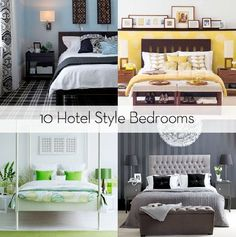 Bedroom Ideas Hotel Style 30 hotel style bedroom ideas_26 | diy - tips tricks ideas repair
