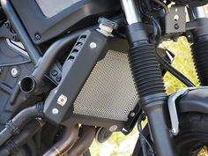 XSR700 radiator cover Yamaha