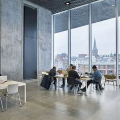 The Hudevad Plan XV is one of our most prestigious radiators. The vertical giant is a statement on the wall to be incorporated in interior design of the room, making it an active part of the decorating. Vertical Radiators, Aarhus, Scandinavian Style, How To Plan, Interior Design, Building, Wall, Room, Modern