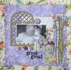A future heritage layout of Ali with her Great-Grandmother.