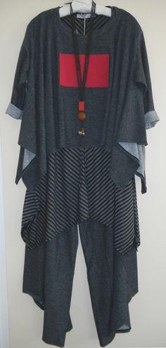 R. Browning Tokyo Top, Tunic and Pants  Teresa Goodall necklace