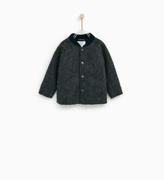 Image 1 of BOMBER JACKET WITH FAUX FUR LINING from Zara