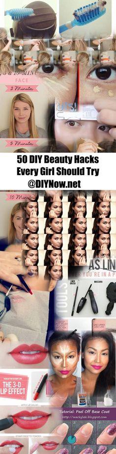 50 DIY Beauty Hacks Every Girl Should Try