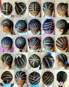 Hello Ladies,     Voici quelques idées de coiffure qui vous permettront de trouver de l'inspiration lorsque vous voudrez coiffer vos enfant...