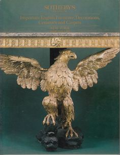 Sotheby's Important English Furniture, Decorations, Ceramics and Carpets April 21 1989