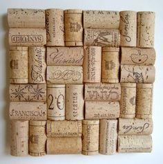 Wine Cork Trivet - Frameless by Corks Reborn
