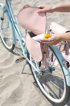 BESPORTBLE Bike Handlebar Bag Bicycle Front Frame Storage Bag Front Baskets for Road Bike Mtb Mountain Bike Black