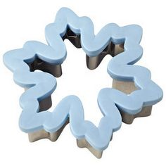 """""""Wilton Comfort-Grip Cutter: Snowflake by Wilton at BakeDeco. Shop for Wilton Comfort-Grip Cutter: Snowflake from Pastry / Pastry & Cookie Cutters / Holiday Biscuit Cutters Shapes at affordable prices. Snowflake Cookie Cutter, Snowflake Cookies, Metal Cookie Cutters, Christmas Cookie Cutters, Cookie Cutter Set, Christmas Cookies, Snowflake Shape, Tree Cookies, Frozen Theme Party"""