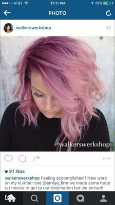 Pinky pink root shadow