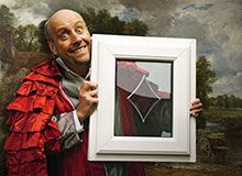 The Safestyle Window Man just loves his art!