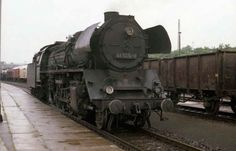 At Sangerhausen, as well as dead BR44 2-10-0, on shed my hoped for BR41 2-8-2 was being prepared to take over an Erfurt to Magdeburg