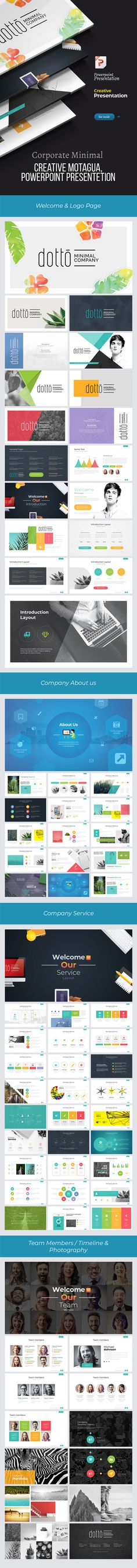 #Creative #Dotto #Powerpoint Template - Creative PowerPoint Templates