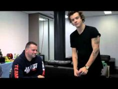 1D Day - Harry Cooking... I absolutely love this part!! And Gemma's in it