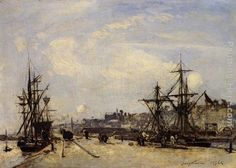 Johan Barthold Jongkind Paintings