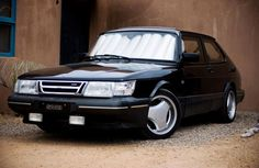 Saab 900T with clear lenses and a few other one off pieces great look.